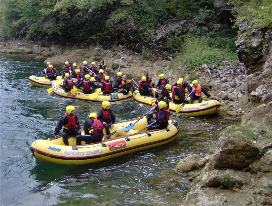 Bijeli Una rafting