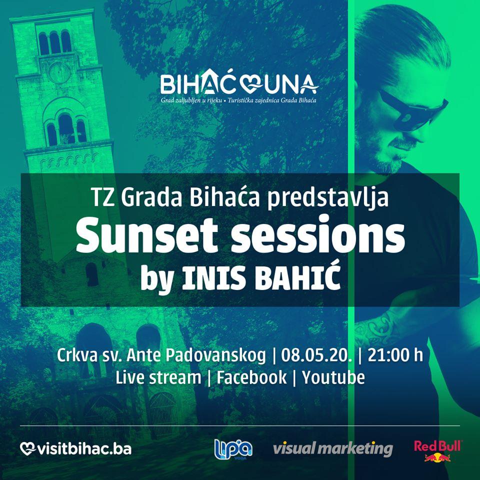Sunset sessions- Prvi live stream na zidinama Crkve Sv. Ante Padovanskog