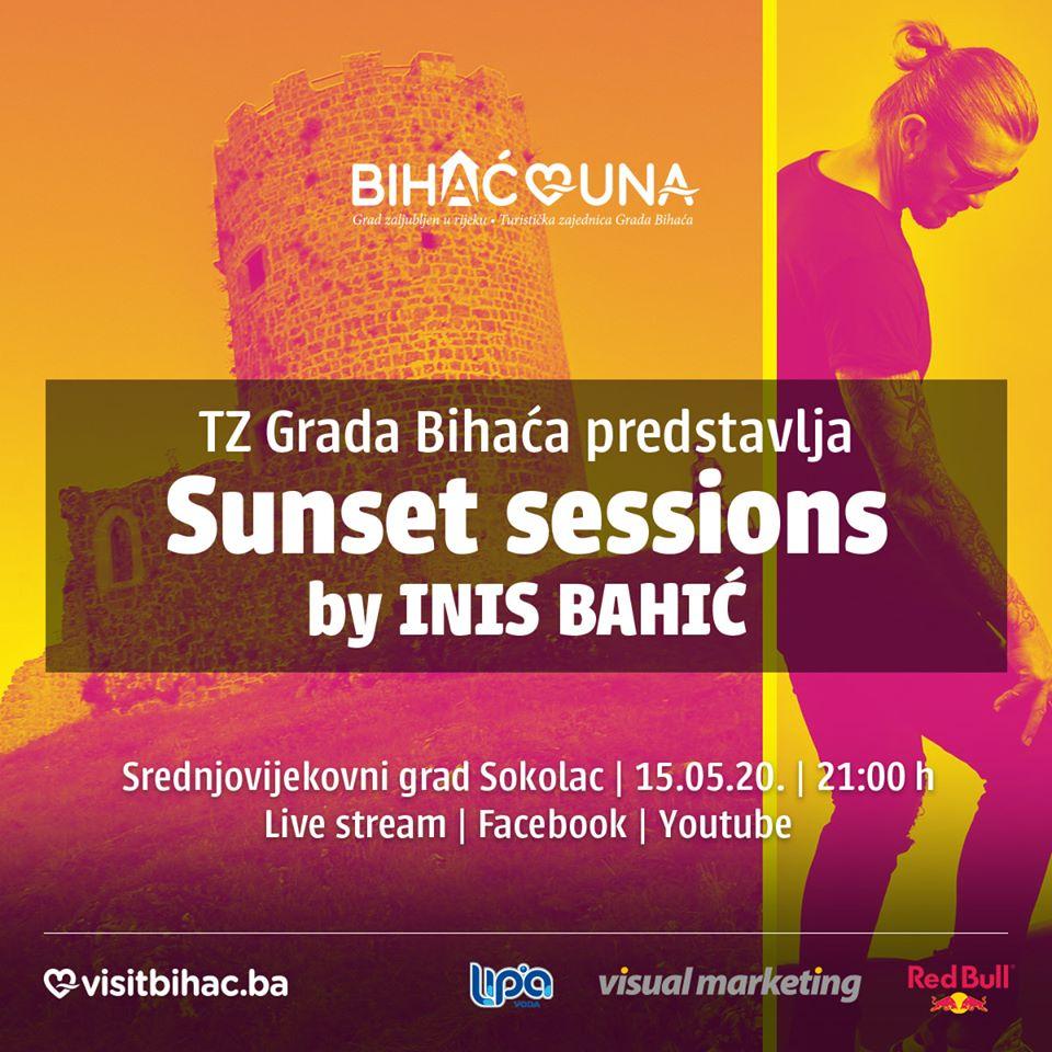 Sunset sessions- Drugi live stream na zidinama starog grada Sokolac