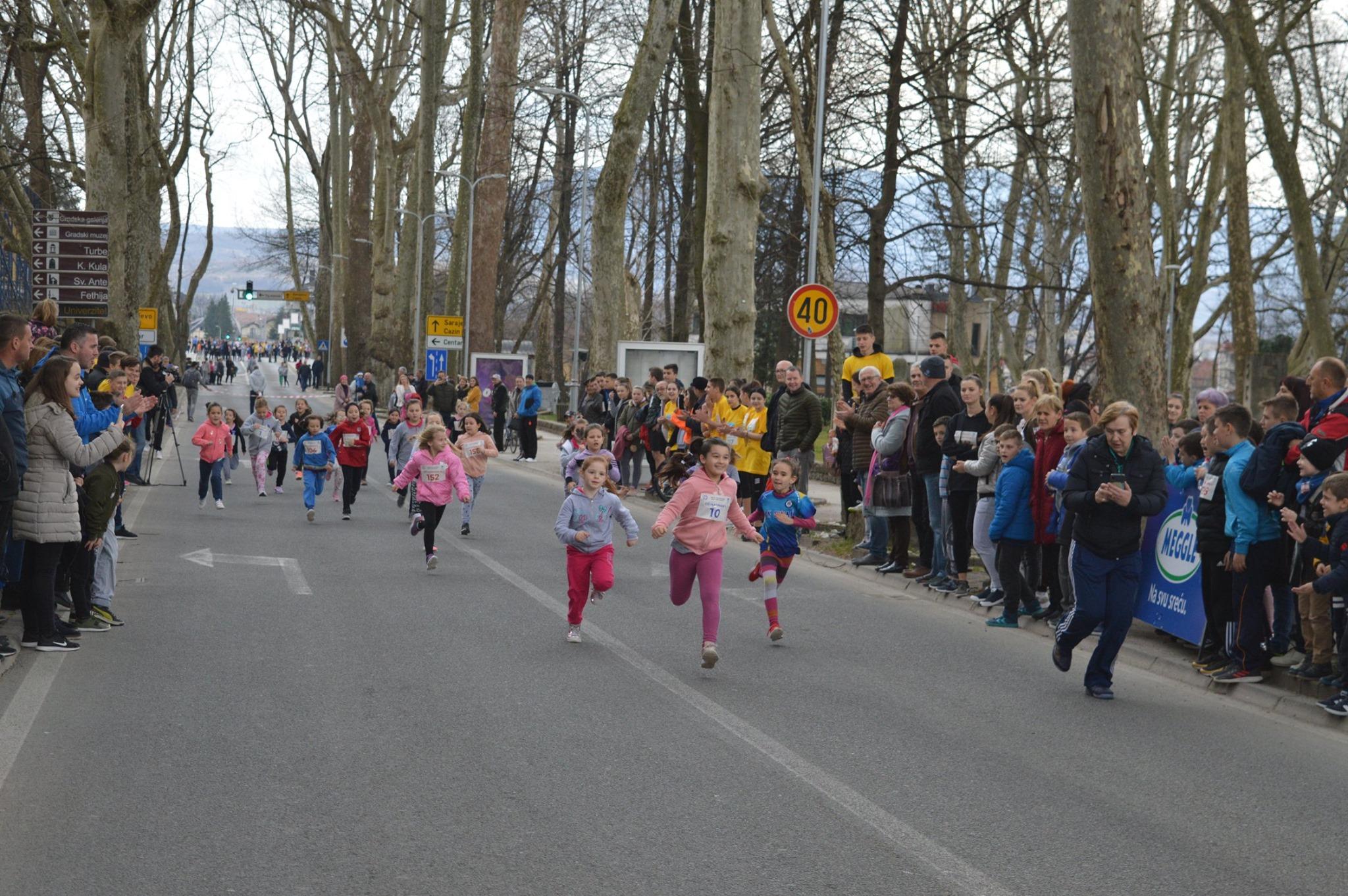 Ulična utrka mladih Bišćana povodom rođendana Grada Bihaća