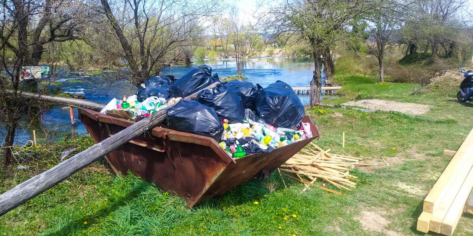 Ekološki vikend u gradu na Uni